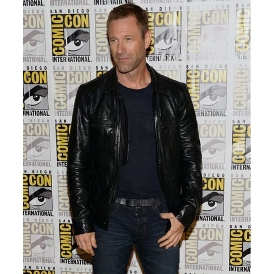 Aaron-Eckhart-Adam-Frankenstein-Leather-Jacket-1
