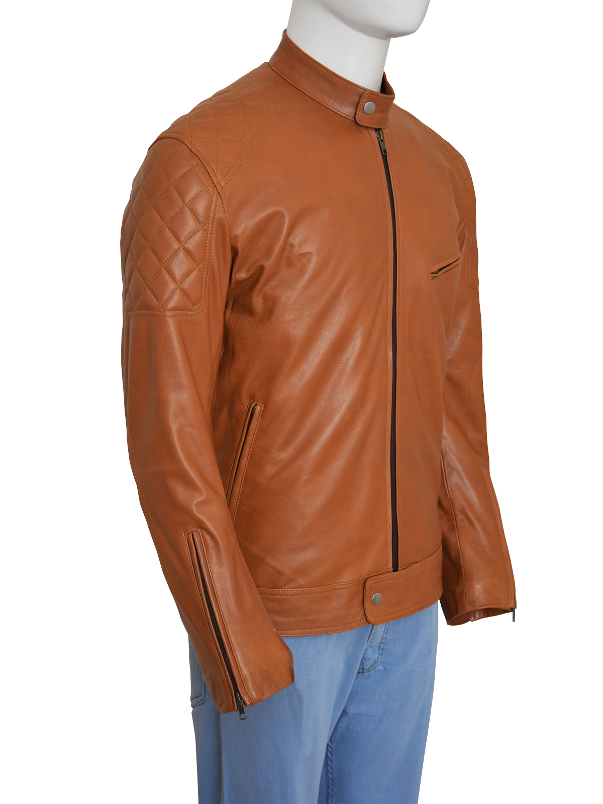 Brown-Biker-Men-Stylish-Jacket