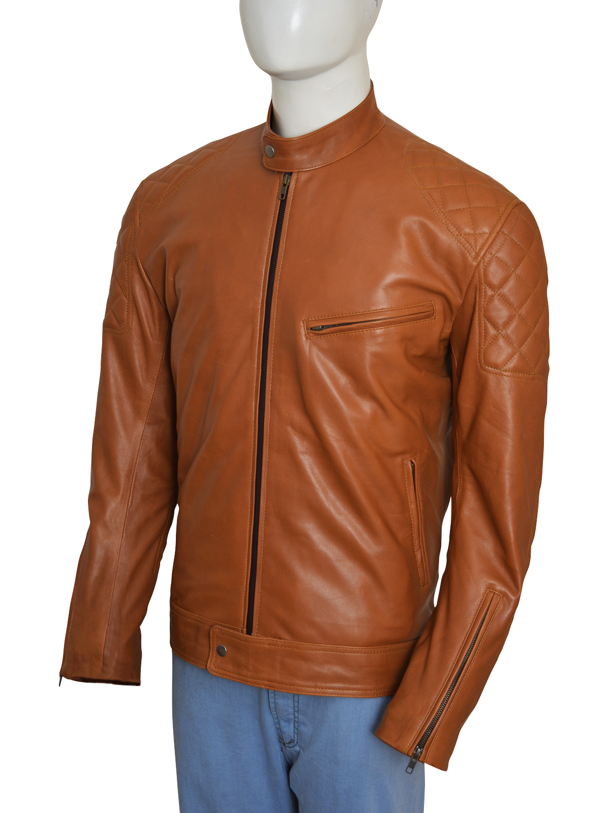 Brown-Biker-Stylish-Men-Jacket