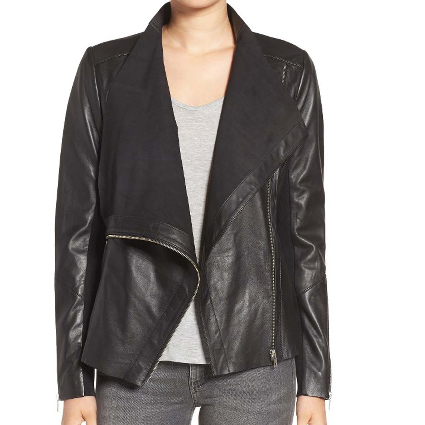 Drape-Front-Raw-Edge-Leather-Jacket..