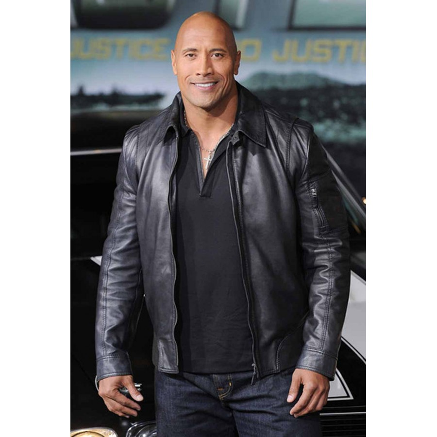 Dwayne-Johnson-Faster-leather-Jacket-1