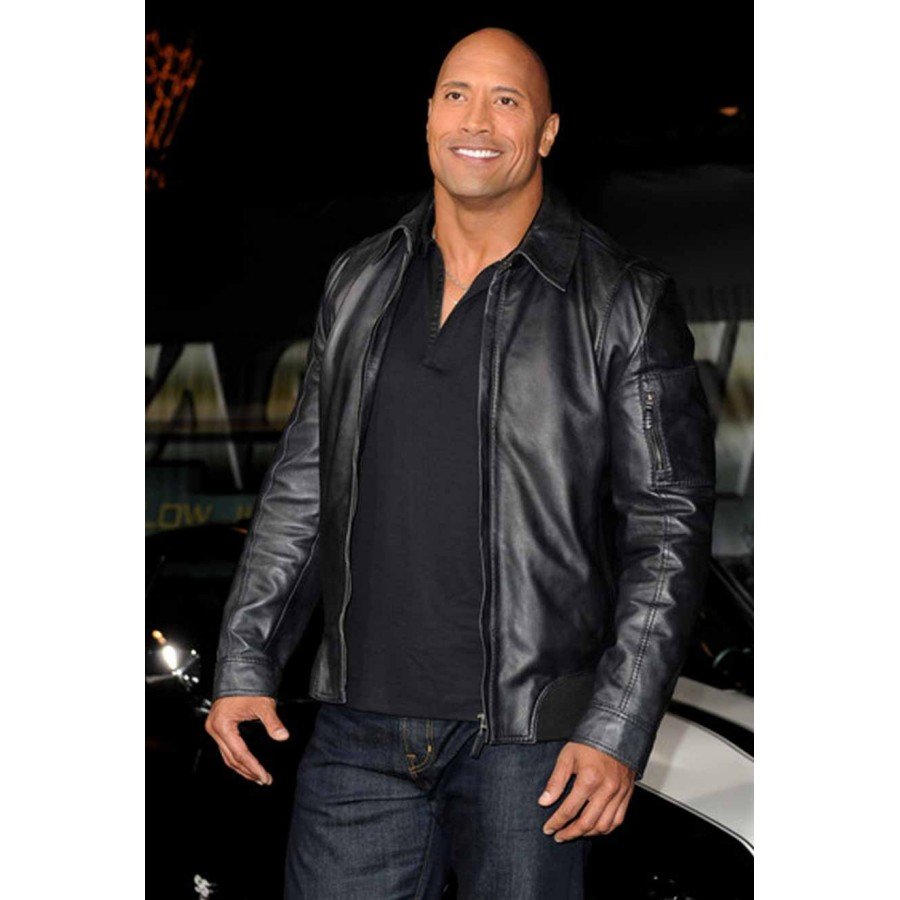 Dwayne-Johnson-Faster-leather-Jacket-2