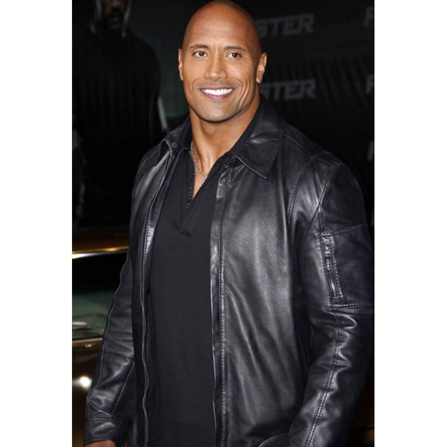 Dwayne-Johnson-Faster-leather-Jacket-4
