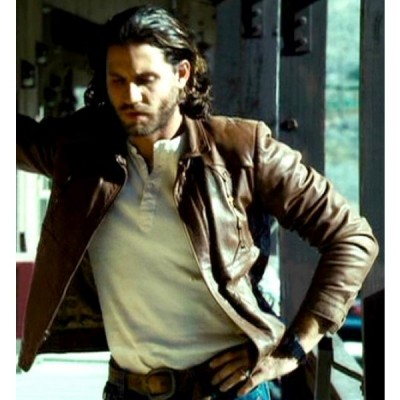Edgar-Ramirez-Domino-Film-Choco-Brown-Leather-Jacket-2