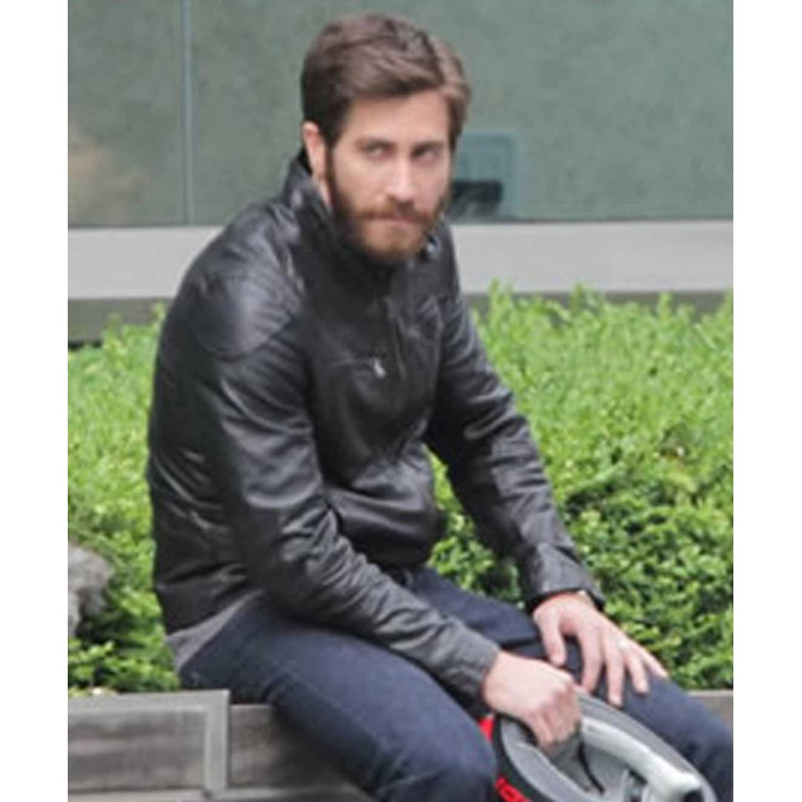 Enemy-Movie-Jake-Gyllenhaal-Leather-Jacket-2