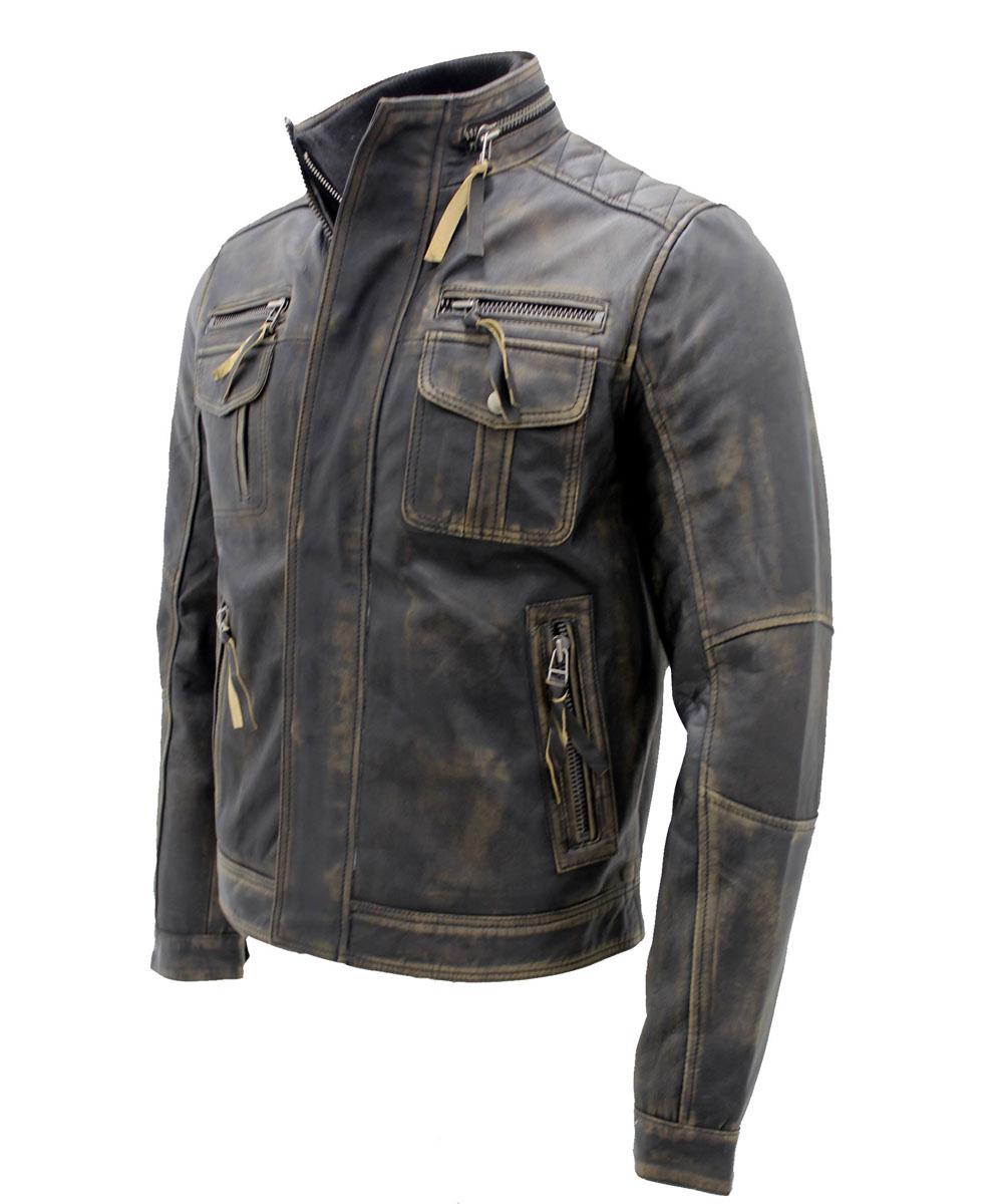 Mens-Vintage-Black-Warm-Leather-Retro-Biker-Jacket-3…