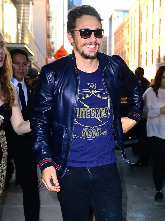 James-Franco-Wears-Gucci-leather-Jacket-1
