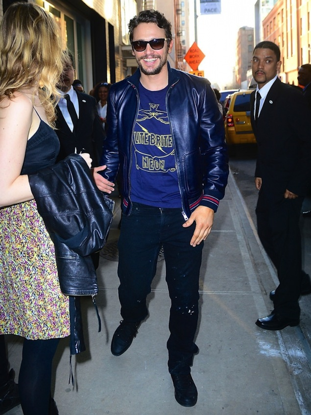 James-Franco-Wears-Gucci-leather-Jacket-4