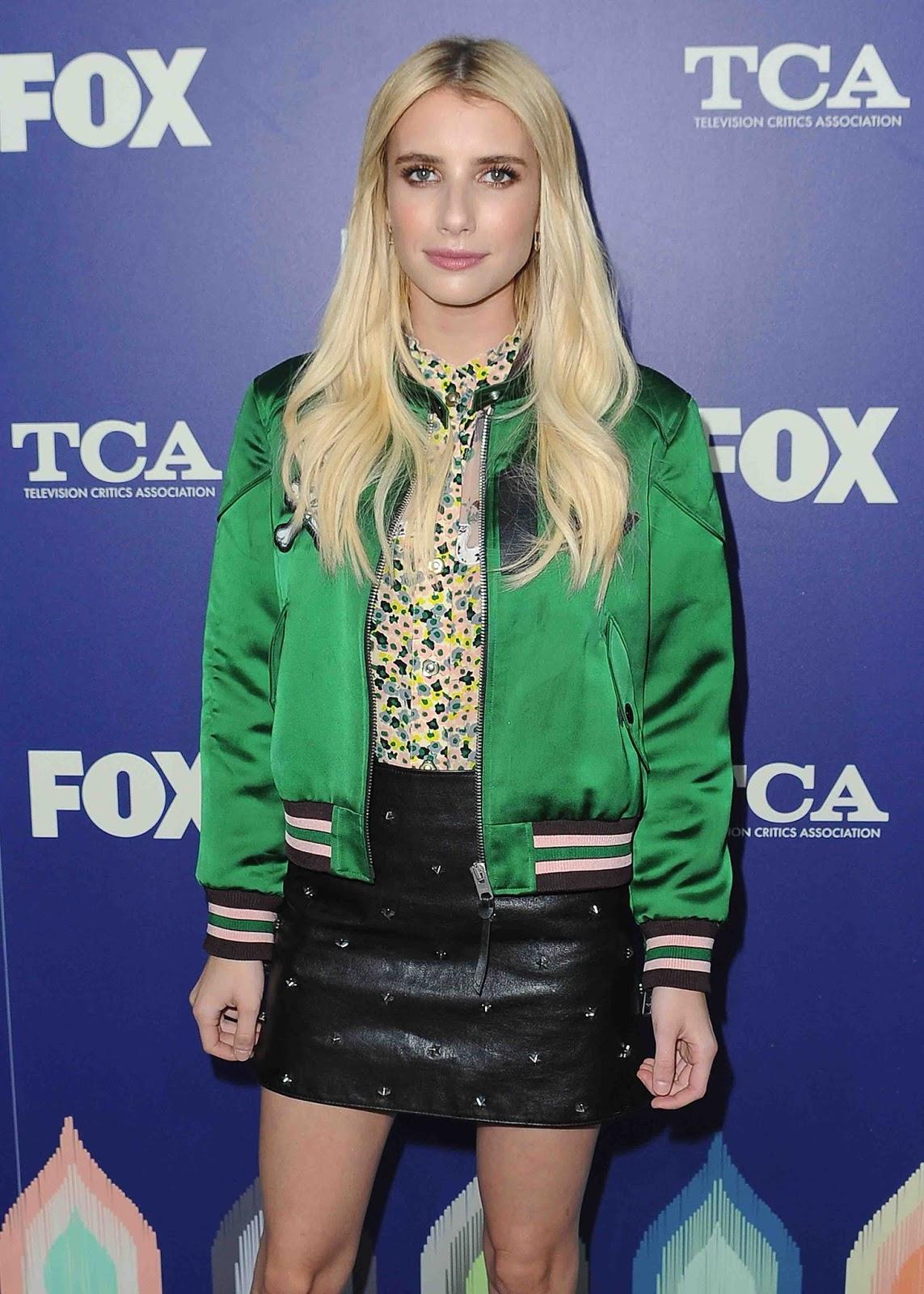 Emma Roberts Varsity Jacket Buy Men S Leather Jacket On Sale