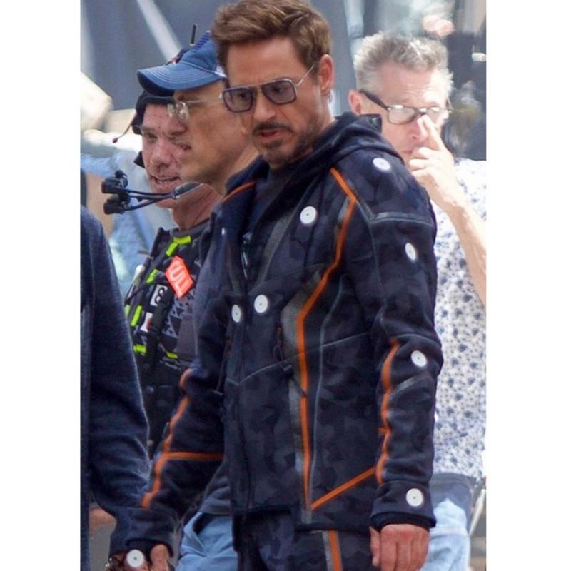 Avengers Infinity War Tony Stark Jacket-800×800