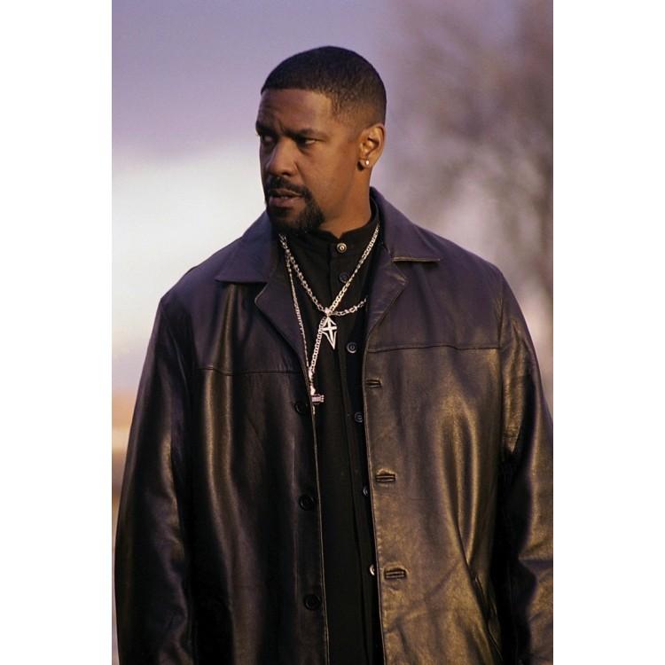 Equalizer Denzel Washington Leather Jacket