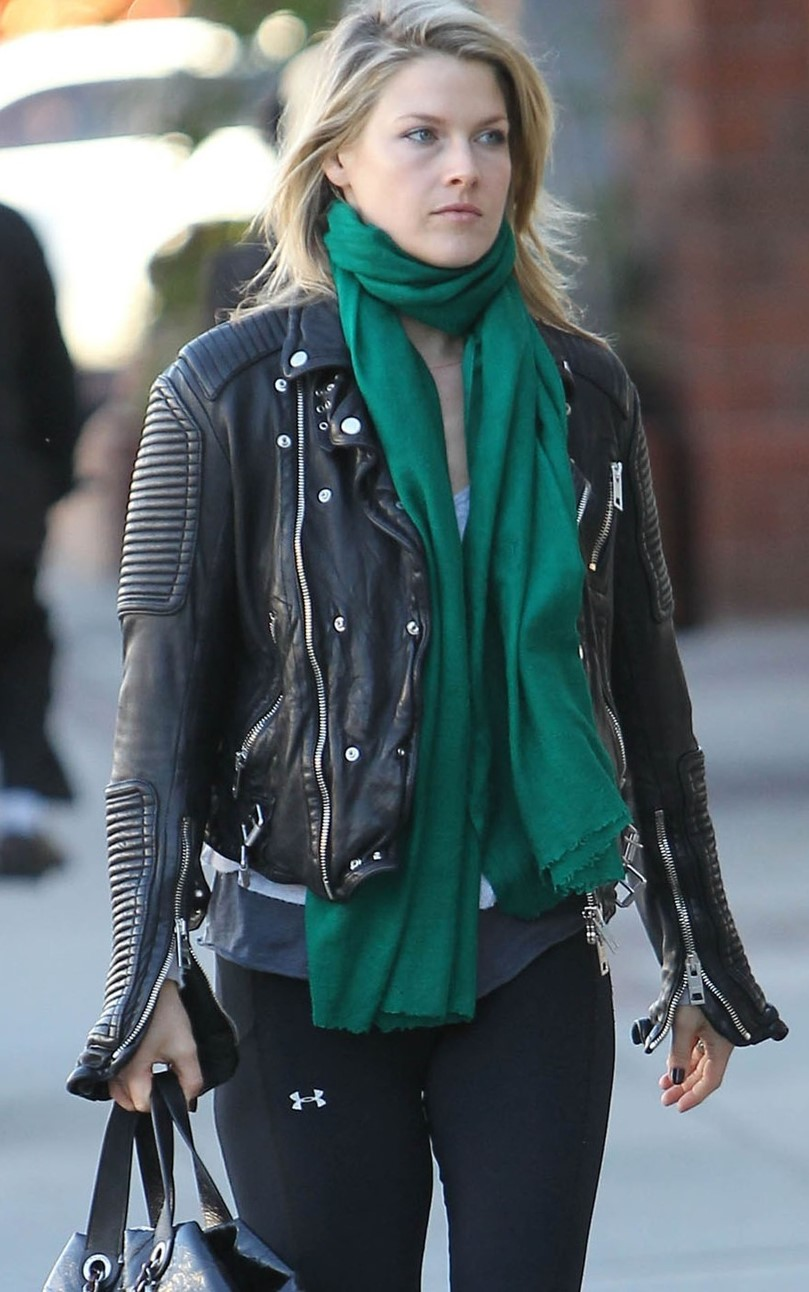ali-carter-leather-jacket-emerald-green-scarf-la-ali-larter-1127802993