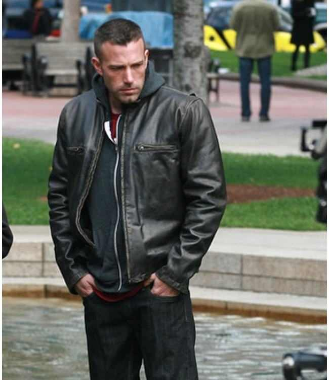 Bundles-up-in-Town-Ben-Affleck-Leather-Jacket-1