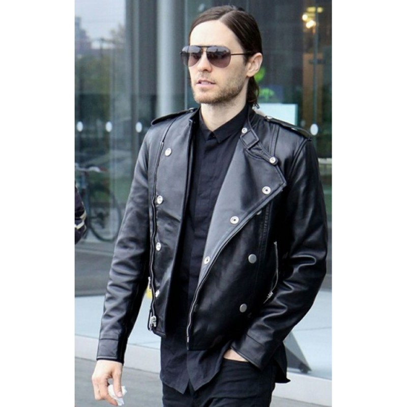 Thirty Seconds to Mars Jared Leto Leather Jacket1-800×800