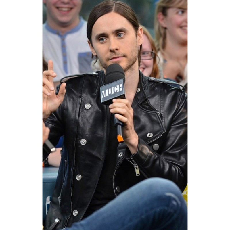 Thirty Seconds to Mars Jared Leto Leather Jacket2-800×800