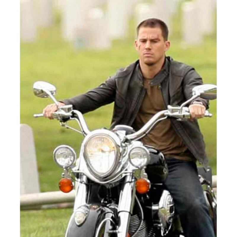 The Rise of Cobra Gi Joe Channing Tatum Leather Jacket-800×800