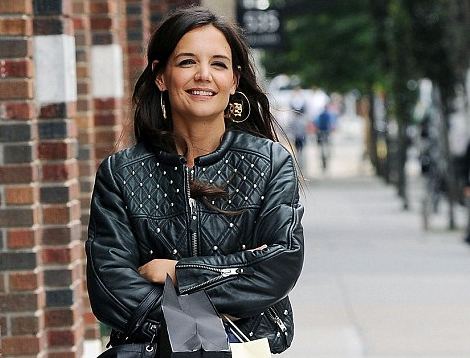Katie_Holmes_leather-jacket