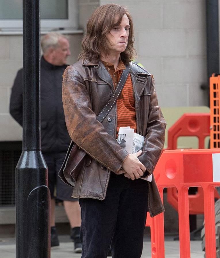 Jamie-Bell-Rocketman-Brown-Leather-Jacket