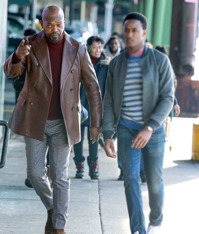 John-Shaft-2019-Brown-leather-Blazer
