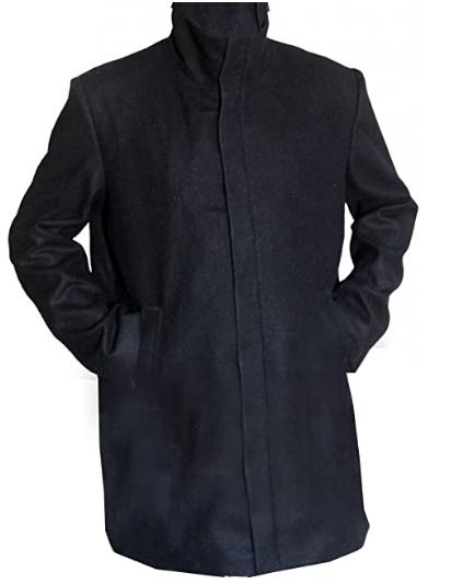Kaulder Leather Coat