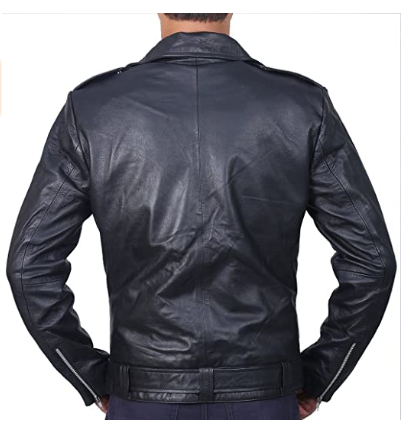 Men's Black Sheep Leather Jacket