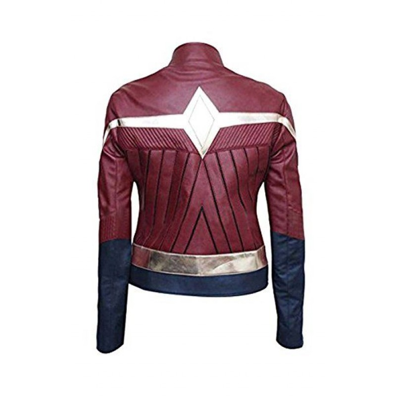 The Outerwear Wonder Woman 2017 Costume Jacket Wonder Woman Gal Gadot Diana Prince Ladies Leather Jacket (1)-800×800