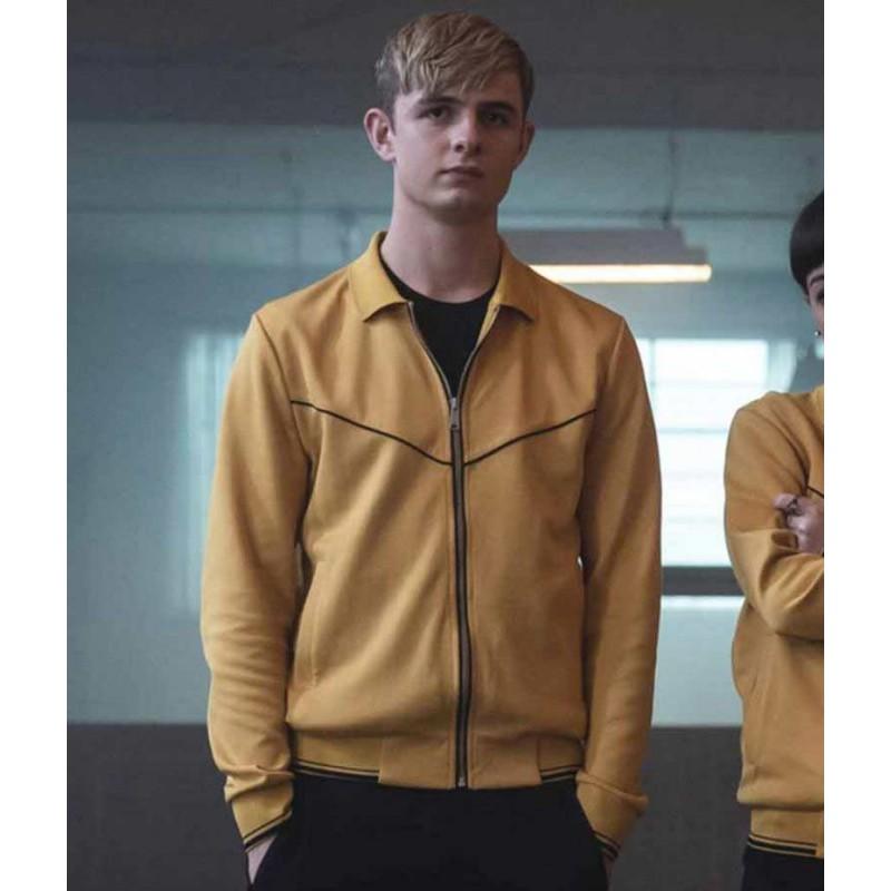 Otto Farrant Yellow Alex Rider Jacket