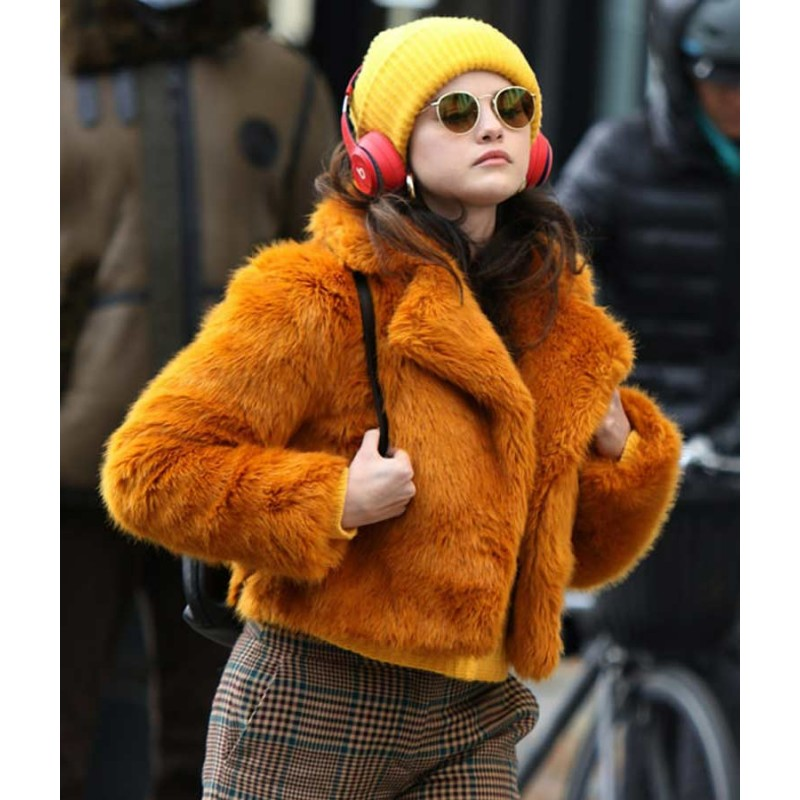 Selena Gomez Only Murders In The Building Mabel Fur Jacket