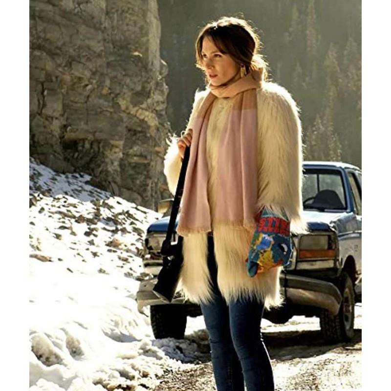 Wynonna Earp Season 04 Waverly Earp Fur Coat