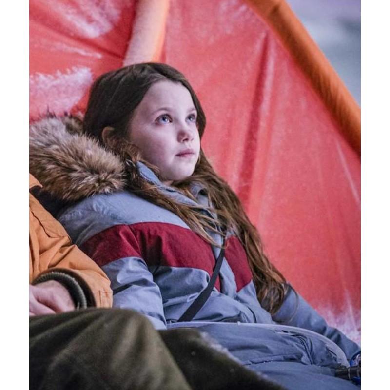 Young Iris The Midnight Sky Caoilinn Springall Parka