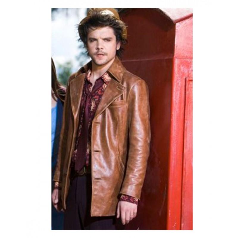 Andrew-Lee Potts Alice Brown Leather Jacket