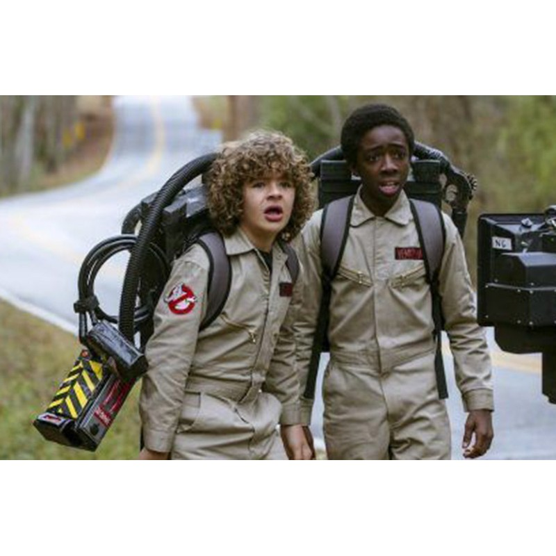 Ghostbusters Afterlife Cotton Grey Jacket