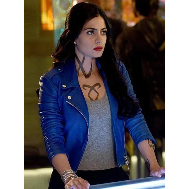 Isabelle Lightwood Shadow hunters Blue Jacket