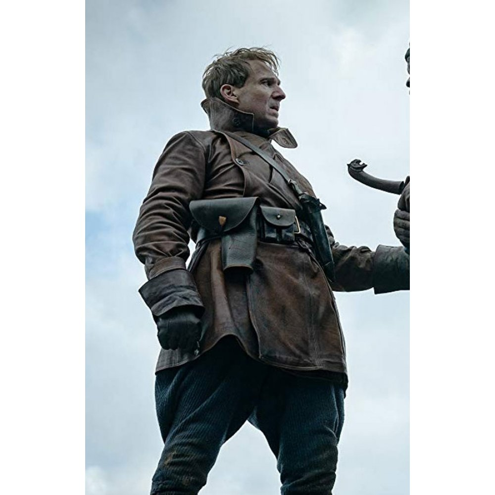 King's Man Duke of Oxford Brown Leather Coat