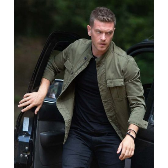 Levent The Protector Cotton Green Jacket