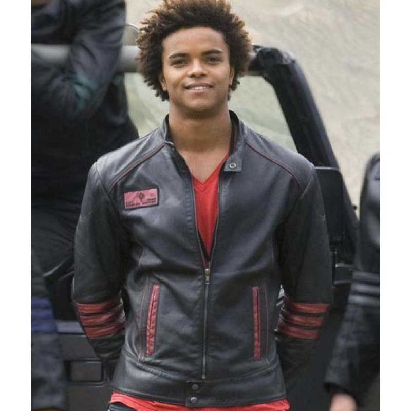 Scott Truman Power Rangers RPM Zipper Jacket